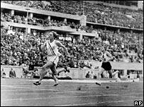 Соревнования на Олимпиаде в Берлине в 1936 году