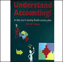 Understanding Accounting by Derek Stone, In Your Own Words Ltd, design by  Raymond Mack