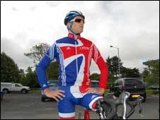 Manx cyclist Jonny Bellis