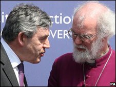Prime Minister and the Archbishop of Canterbury