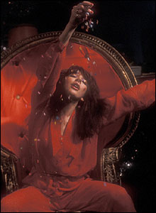 Kate Bush performing in 1979