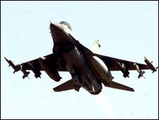 F-16 jet - generic file pic