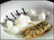 Image of dish served at El Bulli