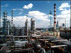 Saratov oil refinery