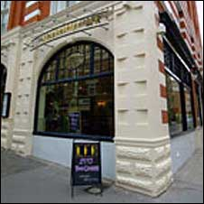 Loch Fyne restaurant, Covent Garden, London