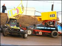 Stock Cars at The Norfolk Arena