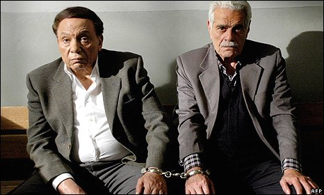 Adel Imam and Omar Sharif in Hassan and Morqos