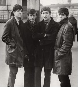 The Beatles by Michael Ward, February 1963 ('Please use the litter bins')