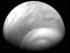 Venus' southern atmosphere (Photo: ESA/ MPS/DLR/IDA)