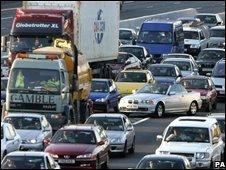 traffic jam, PA