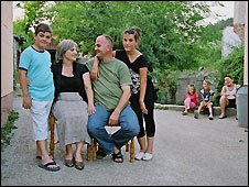 The Gerguri family