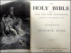 Gladstone family bible