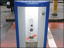 One of the devices on Donegall Square North
