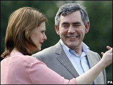 Sarah Brown, Gordon Brown