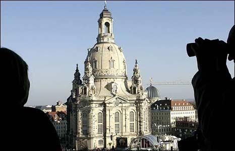 Dresden's restored Frauenkirche