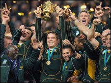 South Africa win the 2007 World Cup