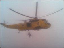 North Sea rescue