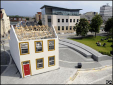 The click-together house in Sunderland