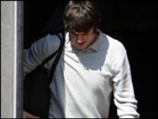 Barton leaving jail