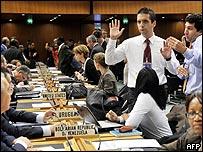 Negociadores discuten en la OMC