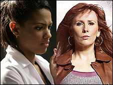 Freema Agyeman and Catherine Tate