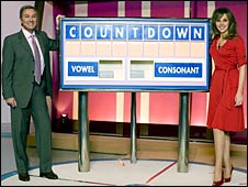 Des O'Connor and Carol Vorderman