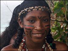 Carib woman