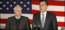 Mitt Romney endorses John McCain
