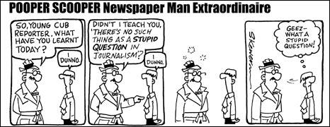 Newspaper Man by Simon Kewer