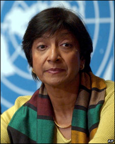 Navanethem Pillay, 2003 file photo