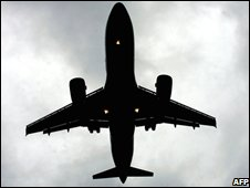 An airliner