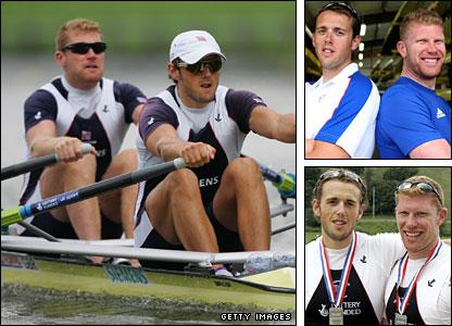 Men's double Matthew Wells and Stephen Rowbotham