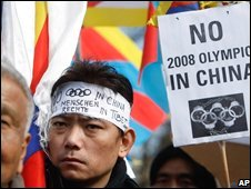 Anti-Olympics protest, AP
