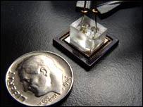 Microscopio optofluidico (Imagen Changhuei Yang, Instituto de Tecnología de California)