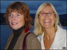 Suzanne Richards (left) and Sarah Dobinson (right)