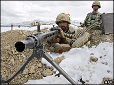 Pakistani army in Fata area