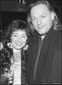Kate Bush and Dave Gilmour