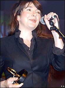 Kate Bush at the Q Awards in 2001
