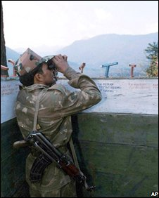 Indian soldier on the LoC