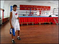 Boxer Mehmet Tursun Chong (Image: Daniel Tetlow)