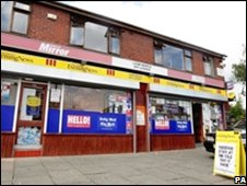 Shops in Oldham