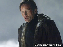 David Duchovny in a scene from the new X-Files film