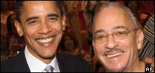Barack Obama and Rev Jeremiah Wright