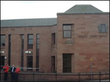 High Court in Kilmarnock (picture from Crown Office)