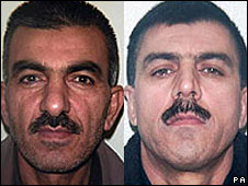 Mahmod Mahmod (left) and Ari Mahmod