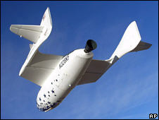 SpaceShipOne (AP/Scaled Composites)