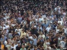 Iraqi Shia pilgrims in Baghdad (28/07/2008)