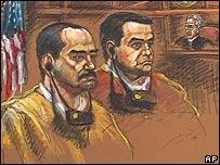 Representación de Ramiro Vanoy Murillo y Francisco Zuluaga Lindo en la corte.