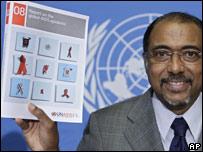 Michel Sidibe, subdirector de ONUSIDA