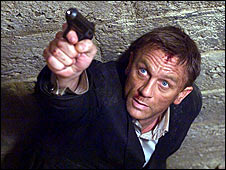 Daniel Craig in Quantum of Solace